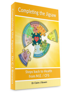 M.E. / CFS Recovery Manual from Dr Claire Bowen - Completing the Jigsaw