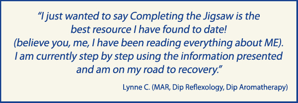 Best ME Resource - ME / CFS Recovery Manual - Testimonial
